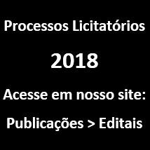 Licitações 2018